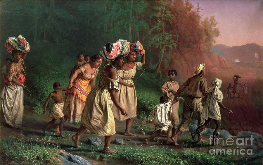 Theodor Kaufmann Painting - On To Liberty by Theodor Kaufmann