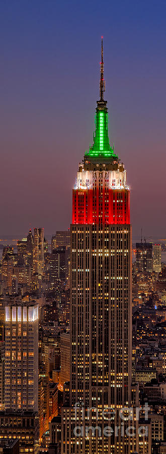 Empire Photograph - On Top Of The Rock by Susan Candelario