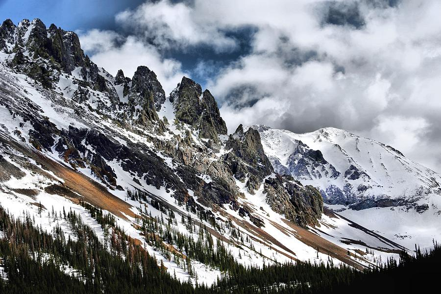 Arapaho National Forest Photograph - On Top Of The Rockies by Rebecca Adams