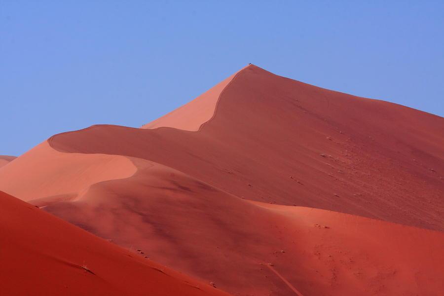 Namib Photograph - On Top Of The World by Aidan Moran