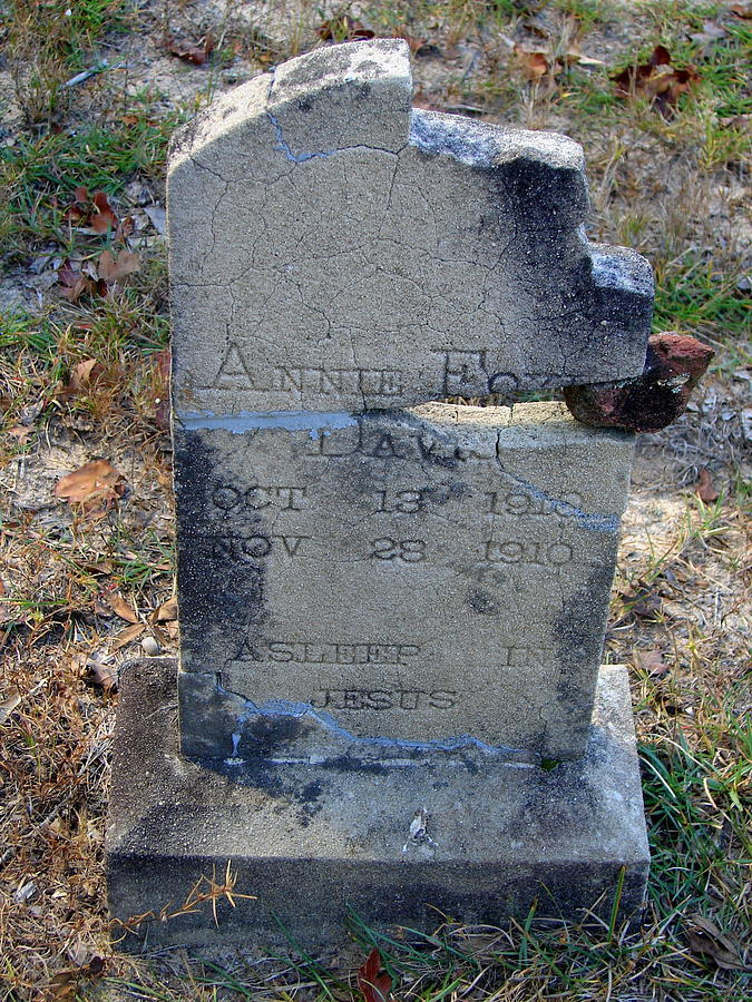 Grave Photograph - Once Known by Lew Davis