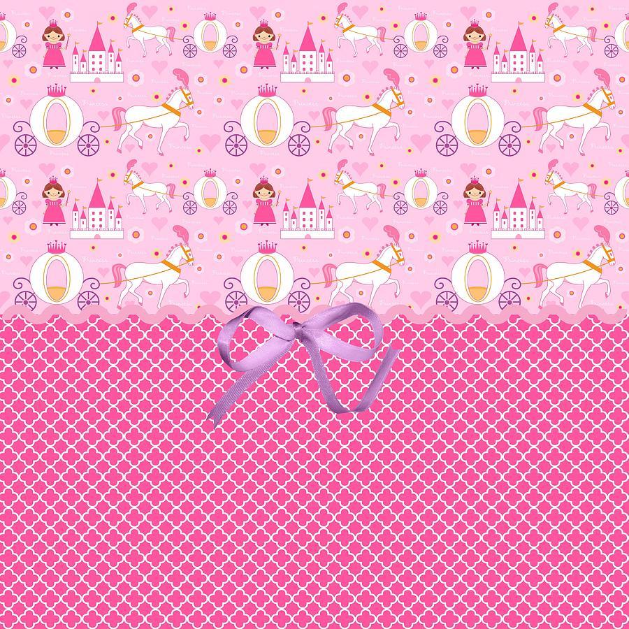 Hearts Digital Art - Once Upon A Princess by Debra  Miller
