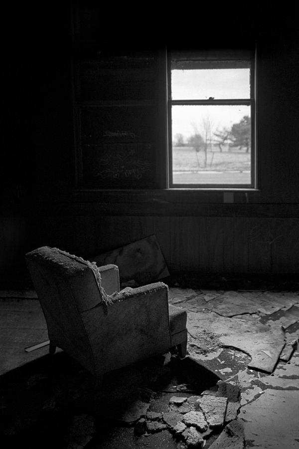 Black And White Photograph - Once Upon A Time by Gary Heller