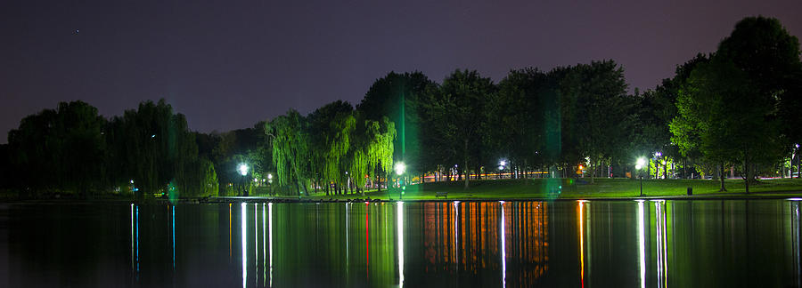 Washington Dc Photograph - One Foot Lake Panorama by Michael Williams