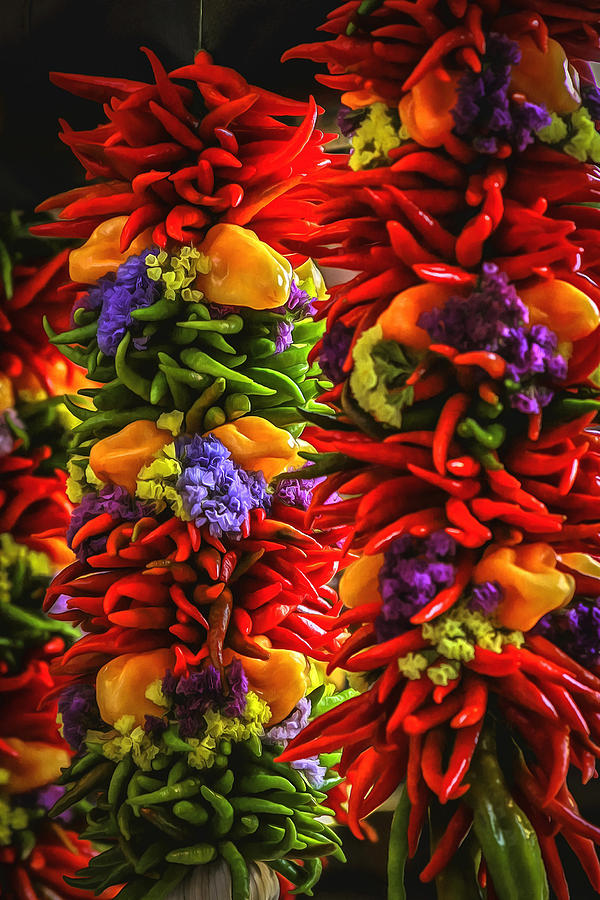 Peppers Photograph - One Hot Minute by CarolLMiller Photography
