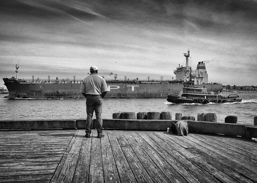 Ship Photograph - One Last Look by Bob Orsillo