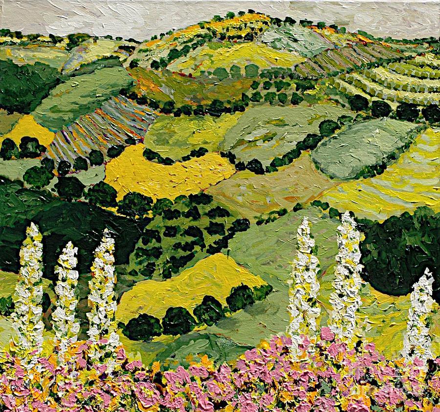 Landscape Painting - One More Smile by Allan P Friedlander