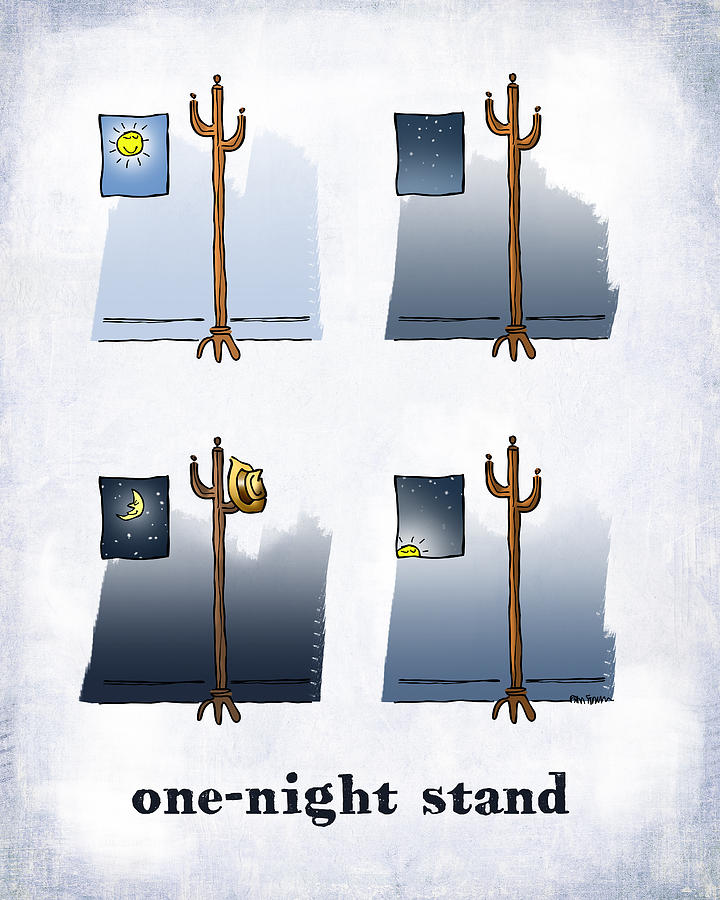 Day Digital Art - One Night Stand by Mark Armstrong