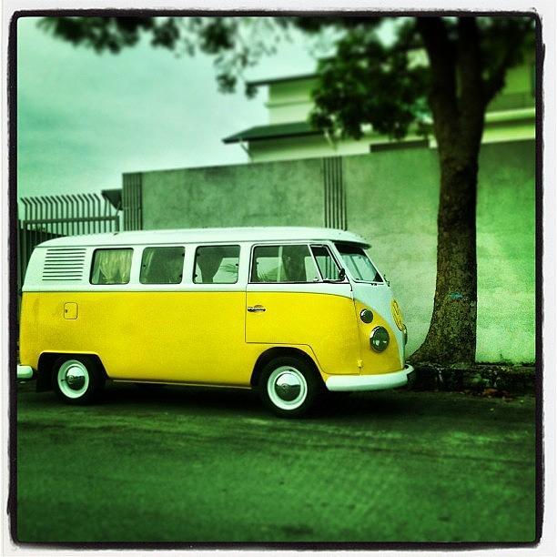 Samba Photograph - One Of #my #favorite #classic #mpv by Swe Swd