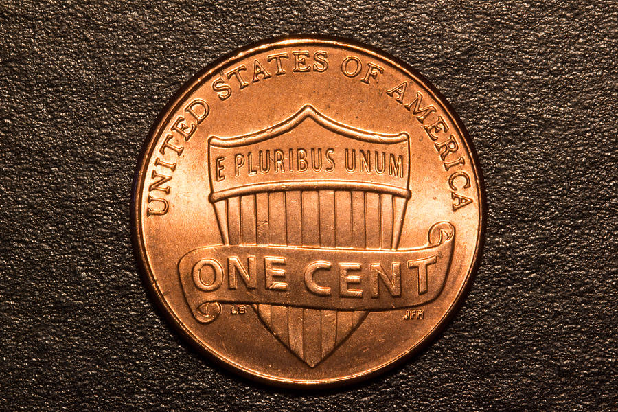 Penny Photograph - One Red Cent by S Cass Alston