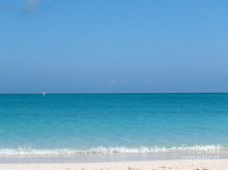 Caribbean Photograph - Grace Bay by Patti Whitten