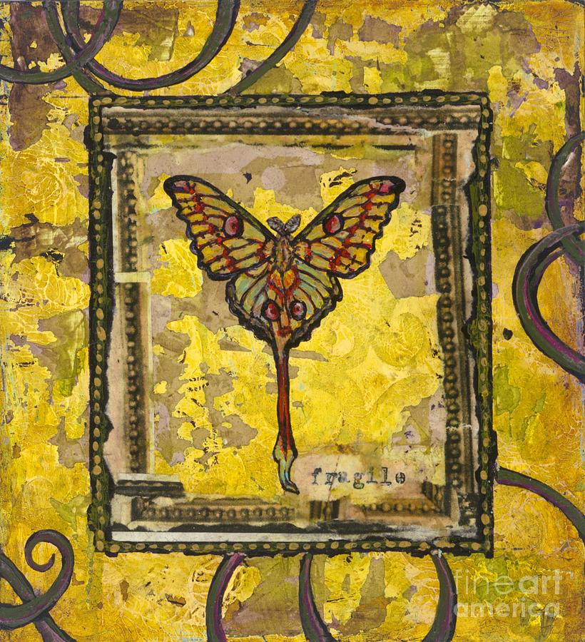 Butterfly Painting - One by Sandra Dawson