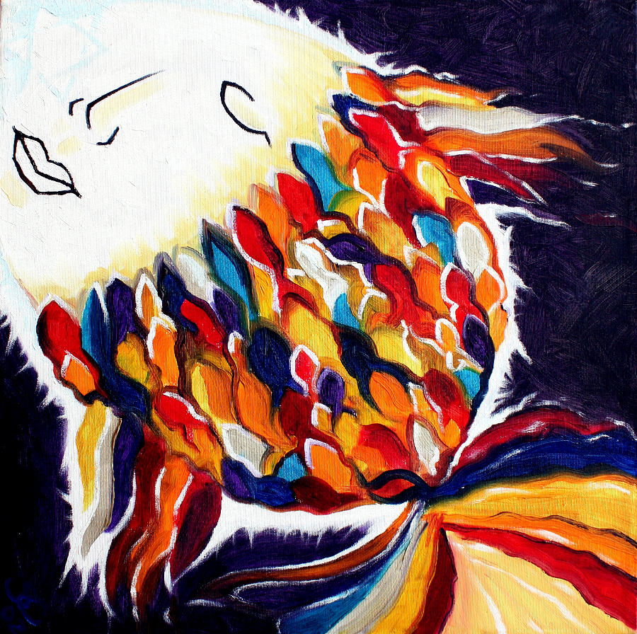 God Painting - ONE by Sandra Yegiazaryan