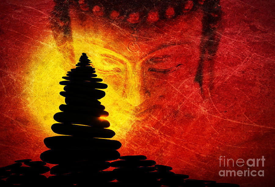 Buddha Photograph - One Stlll Moment by Tim Gainey