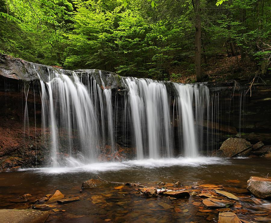 Oneida Falls by Mike Farslow