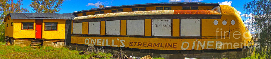 O'neill's Streamline Diner Photograph - Oneills Streamline Diner - 04 by Gregory Dyer