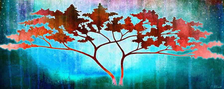 Tree Art For Sale Mixed Media - Oneness by Jaison Cianelli