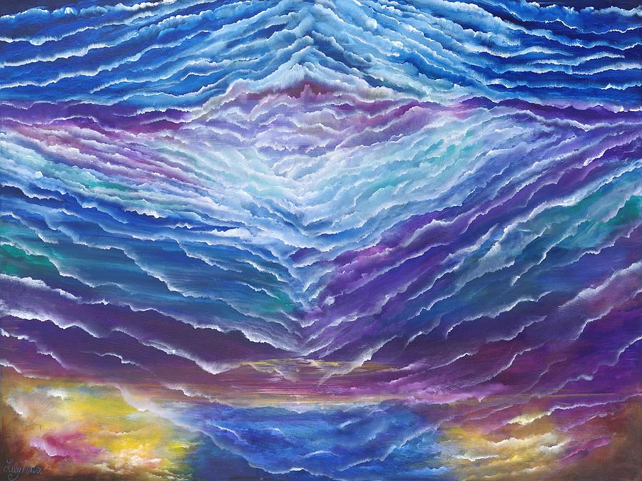 Oneness Painting - Oneness by Lily Nava