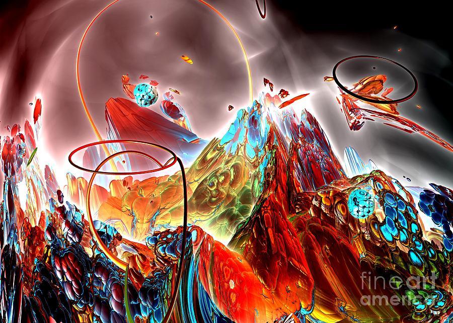 Digital Digital Art - Oniric - 1 by Bernard MICHEL