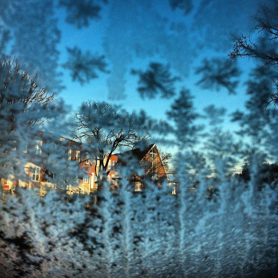 Frost Photograph - Only Glass by Toni Martsoukos