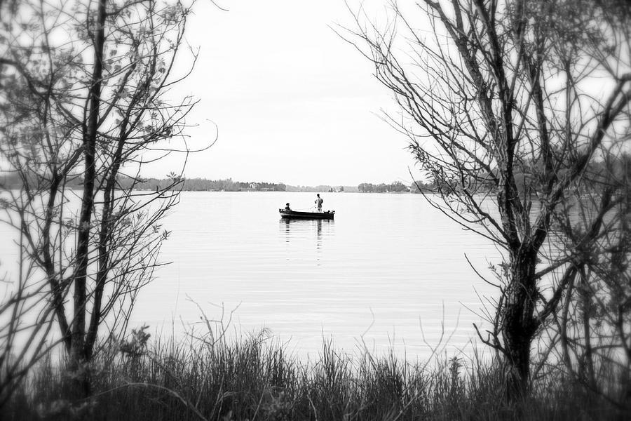 Fish Photograph - Ontario Fishing Trip by Valentino Visentini
