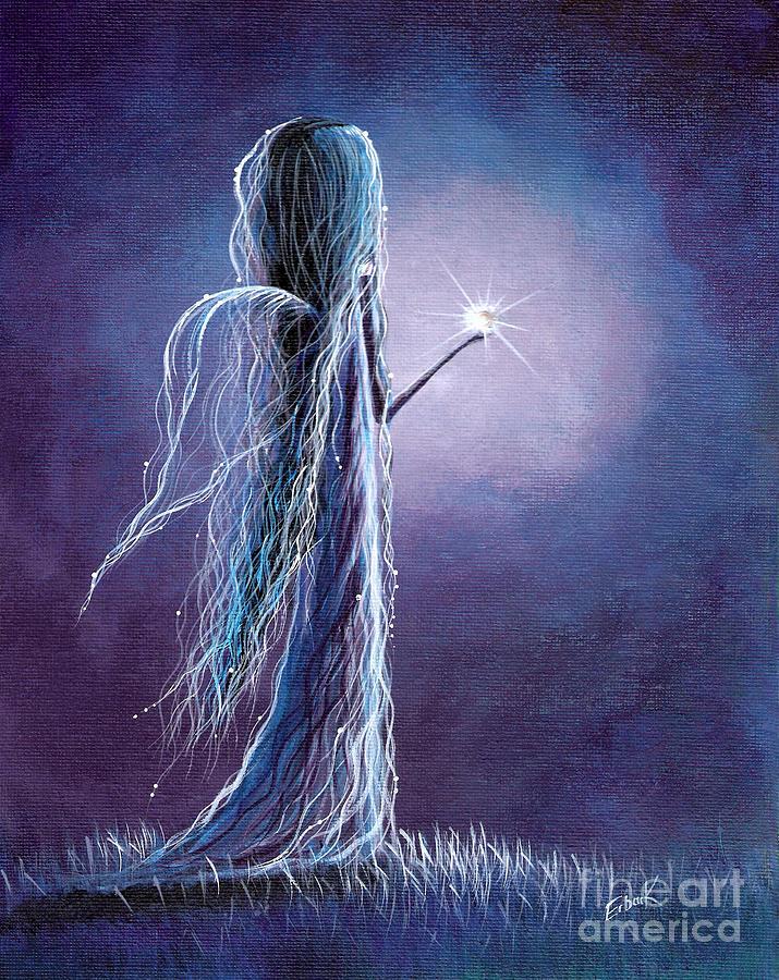 Pretty Painting - Opal Fairy By Shawna Erback by Shawna Erback