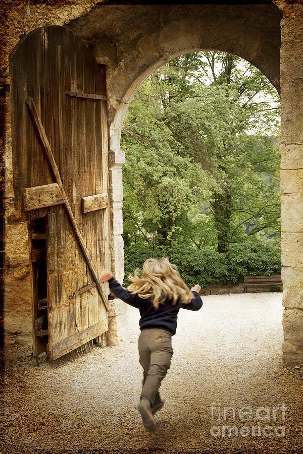 Heiko Photograph - Open Gate by Heiko Koehrer-Wagner