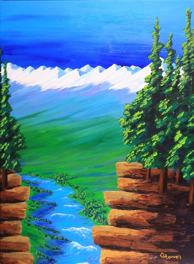 Landscape Painting - Open My Eyes Lord by Gary Rowell