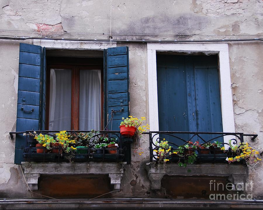 Italy Photograph - Open Or Closed by Mel Steinhauer