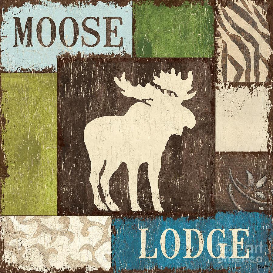 Lodge Painting - Open Season 1 by Debbie DeWitt
