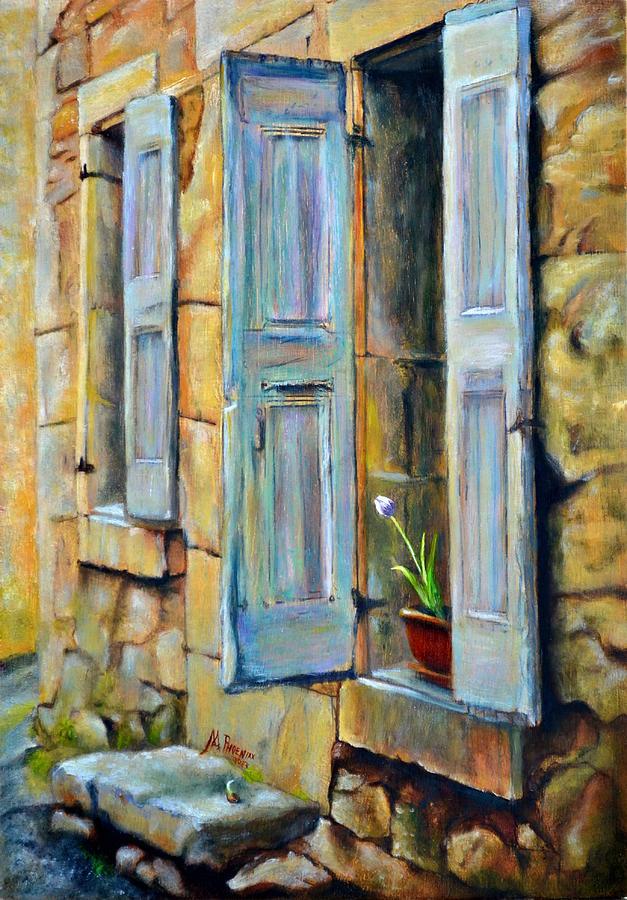 Oil Painting - Open the Door by Maxx Phoenixx