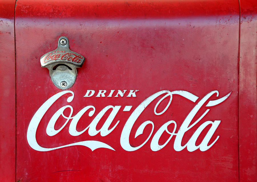 Coca Cola Photograph - Open The Real Thing by David Lee Thompson