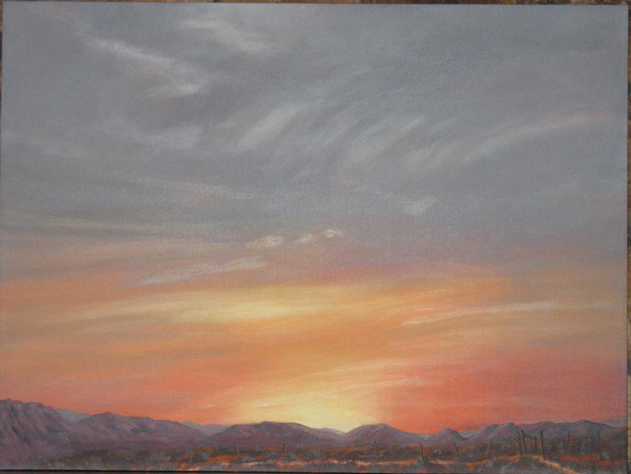 Western Painting - Open To All by Janis Mock-Jones