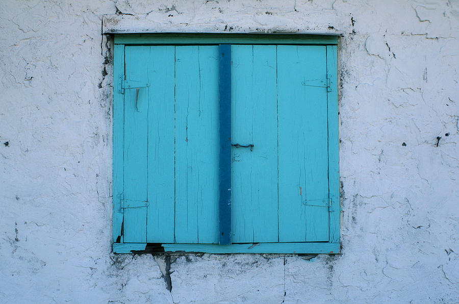 Turquoise Photograph - Open Soon by Paulette Maffucci