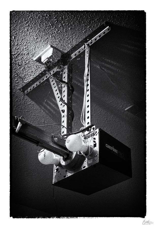 Grunge Photograph - Open Up - Art Unexpected by Tom Mc Nemar