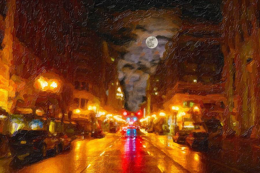 Cityscape Digital Art - Opening Of Hope by Cary Shapiro