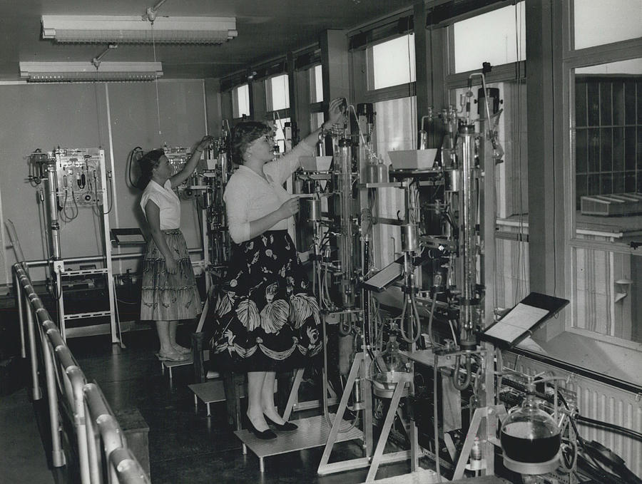 Retro Photograph - Opening Of The Warren Spring Laboratory... Research Into by Retro Images Archive