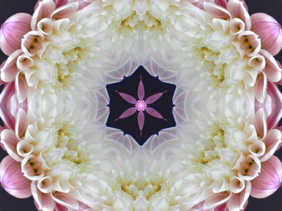 Opening to Love Mandala by Diane Lynn Hix