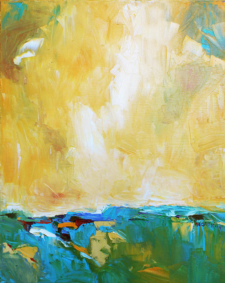 Landscape Painting - Openness by Becky Kim