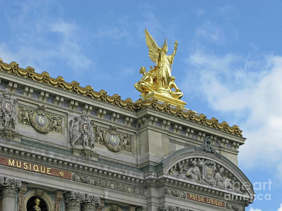 Opera Garnier Photograph