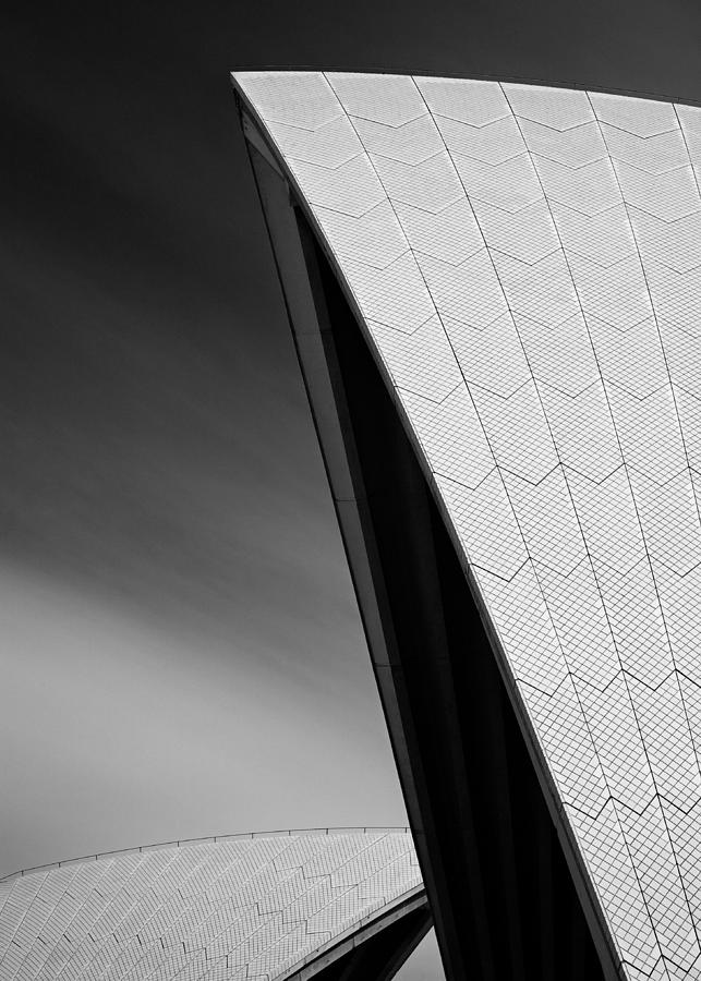 Sydney Opera House Photograph - Opera House by Dave Bowman