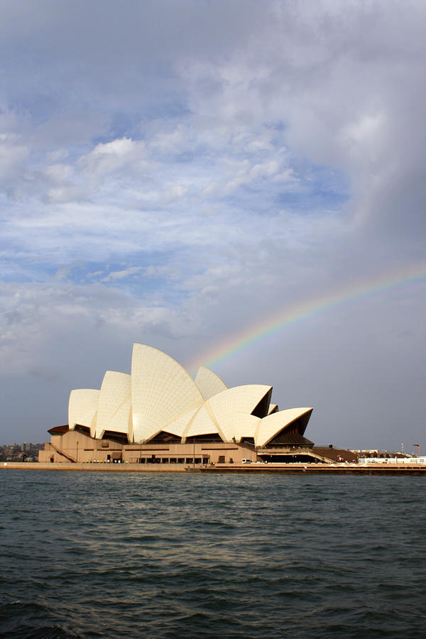Rainbow over the Opera House by Stefan Kaertner