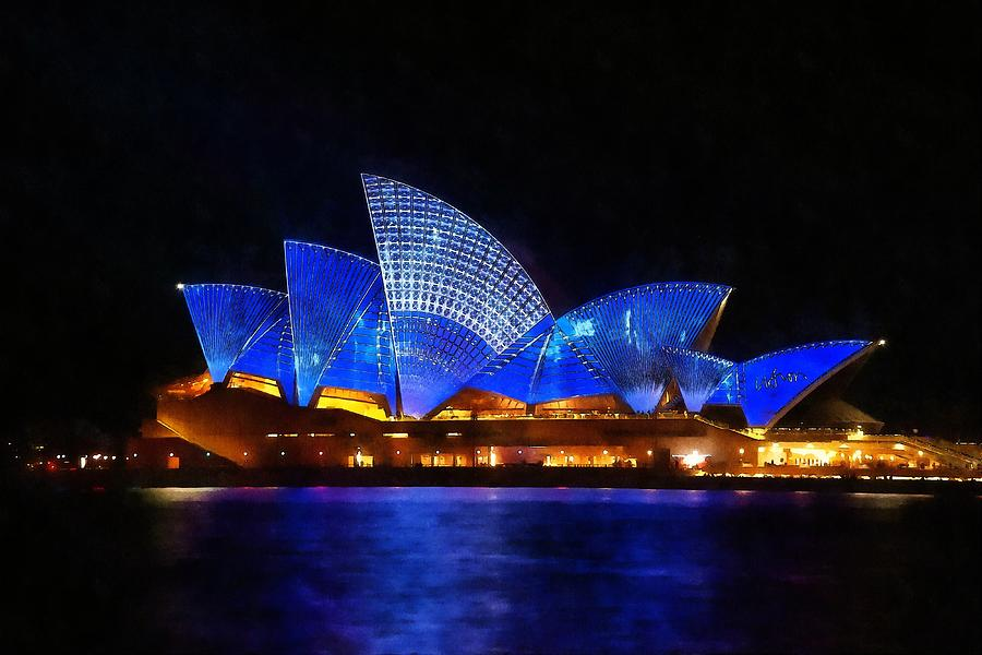 Opera House Sydney Australia Painting By Fine Art