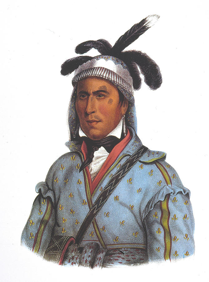 1836 Painting - Opethle-yaholo (c1789-1862) by Granger