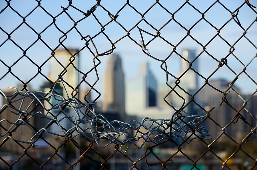 Barrier Photograph - Opportunity by Jim Hughes