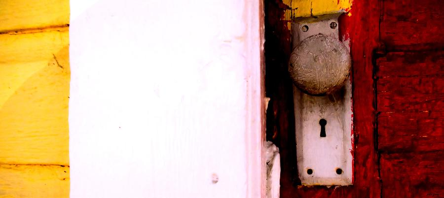 Door Knob Photograph - Opportunity Knocks by John Grace