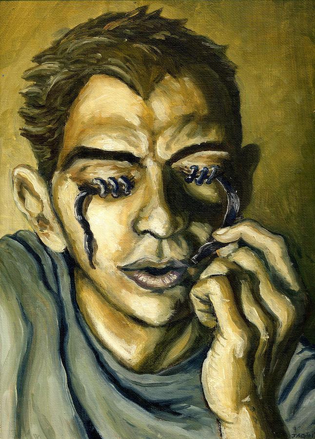 Surreal Painting - Optophobia  by John Ashton Golden