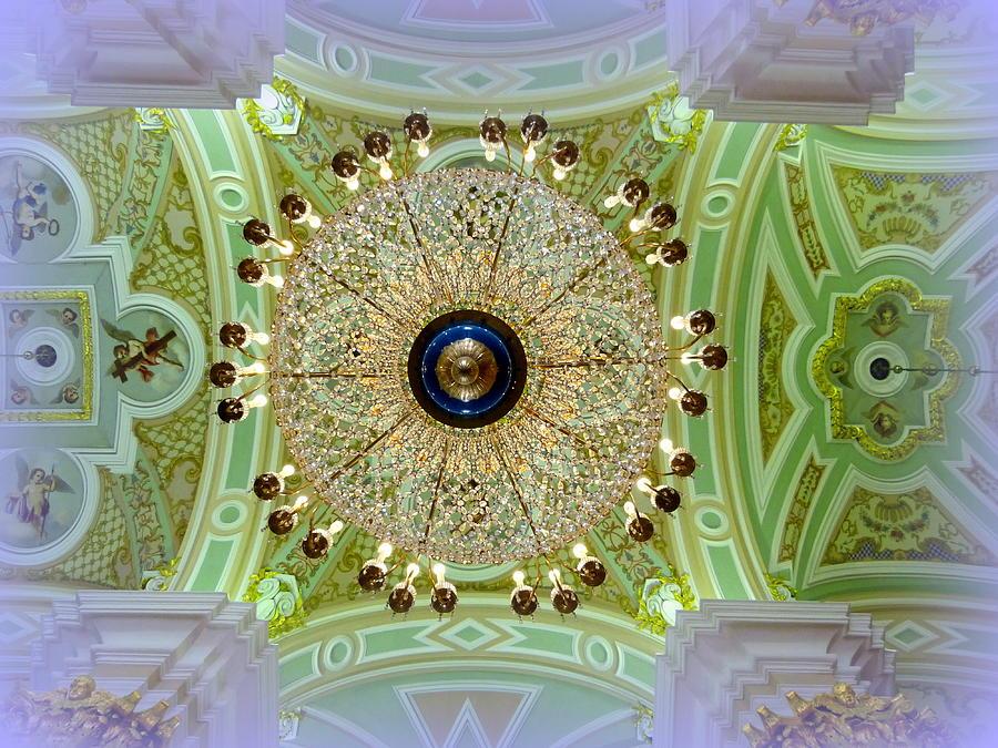 Ceiling Photograph - Opulence Overhead by David Kovac