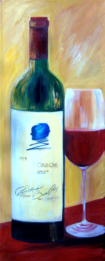 Opus One Painting - Opus One  by Sheri  Chakamian