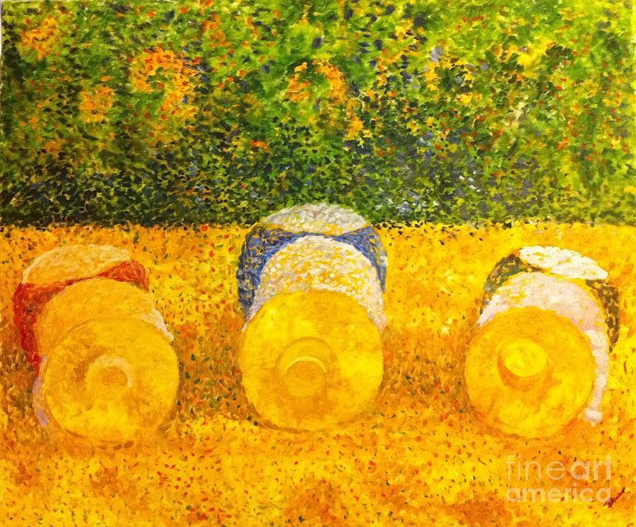 Sun Painting - Ora Et Labora by B Russo